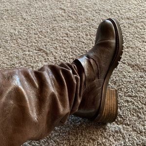 Jeffrey Campbell Brown Boots - Size 7